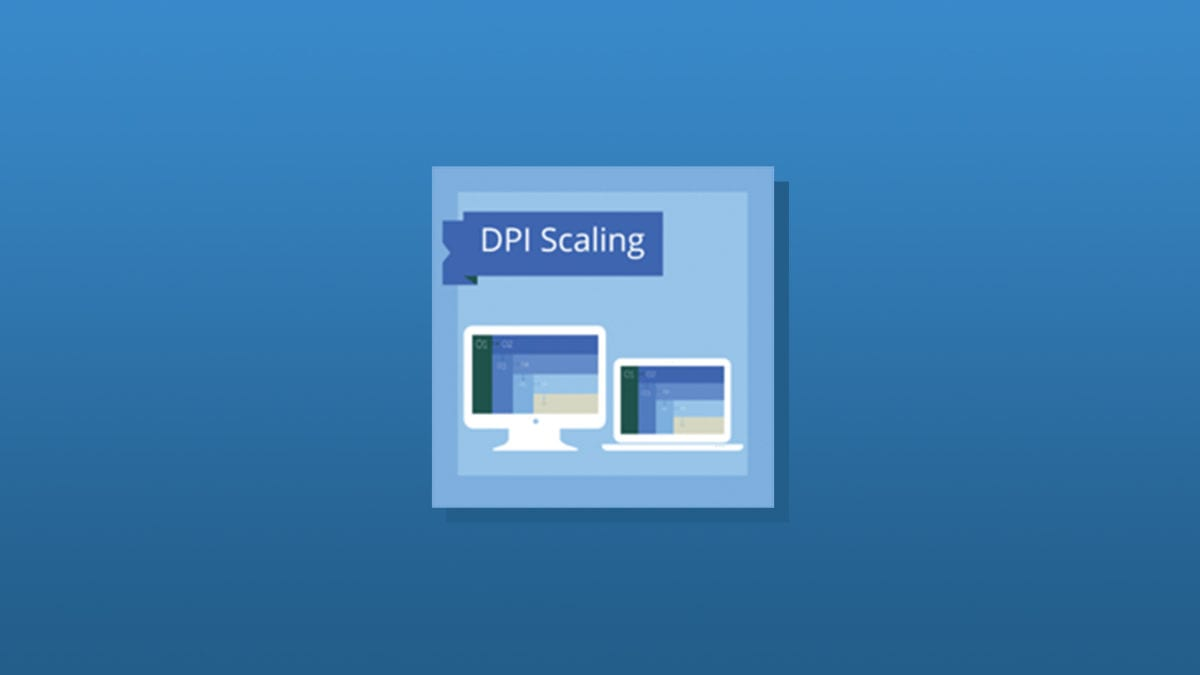 Coding for DPI Scaling