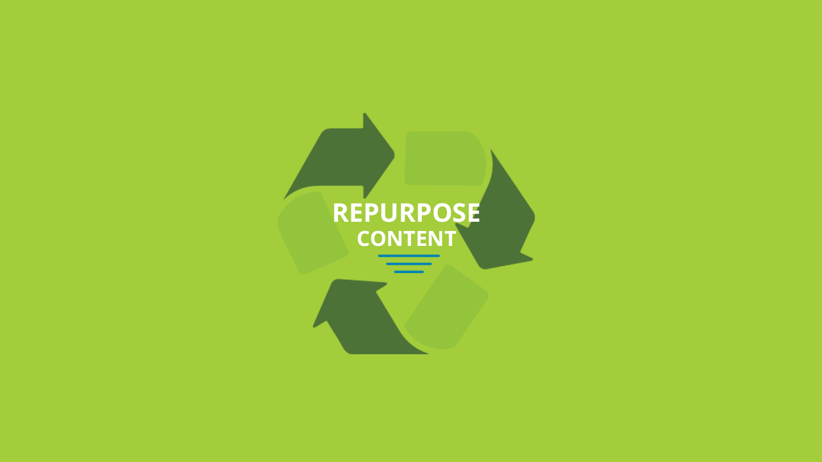 7 Smart Ways to Repurpose Your Content