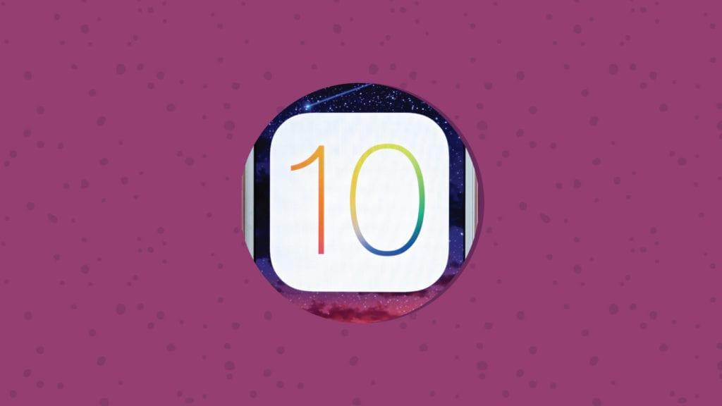 iOS 10 Now Available