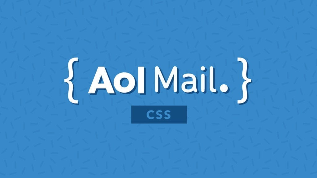 CSS for AOL Mail