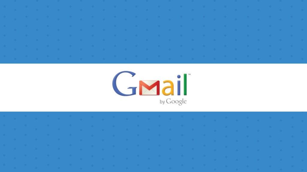 Gmail Copyright Symbols