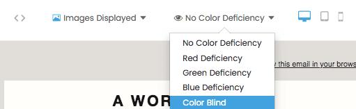 Check color contrast ratios