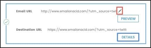Making URL Changes
