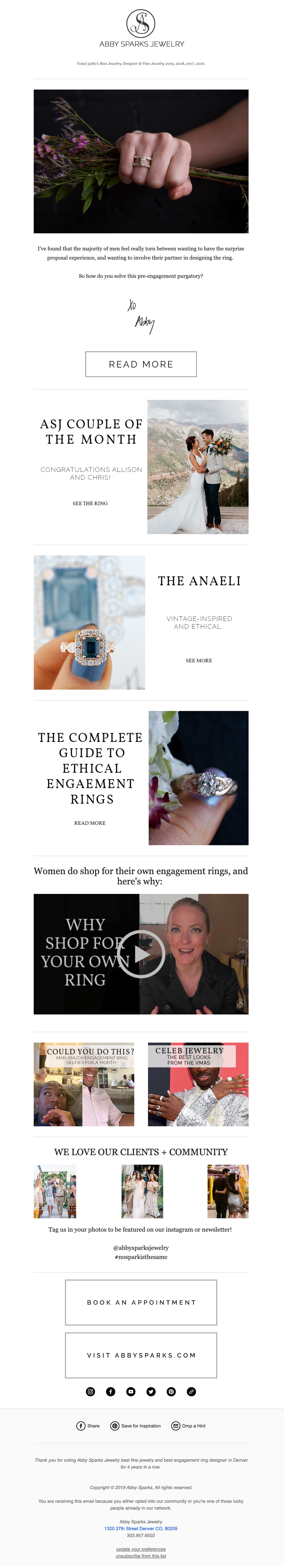 Abby Sparks Jewelry email